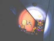 FNaF4 - Pasillo Izquierdo (Nightmare Fredbear - Iluminado)