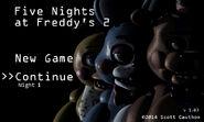 FNaF 2 (Móvil) - Menú (Noche 1)
