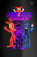 Arcade Mayhem Poster