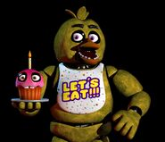 Chica Official Render