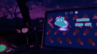 Menu wyboru poziomu (FNaF VR)