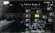 FNaF 2 (Móvil) - Party Room 4 (Luz apagada)