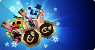 FNaFAR - PromotionalPackage - Freddy Frostbear - Toy Chica