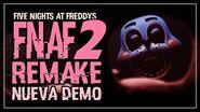 FNAF 2 REMAKE DEMO Ya disponible Five Nights at Freddy´s