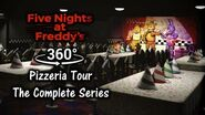 360° Five Nights at Freddy's Pizzeria Tour - The Complete Series (4K Ultra HD)