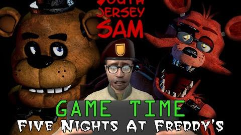 """South Jersey Sam - Game Time """"FIVE NIGHTS AT FREDDY'S"""" Part 1"""