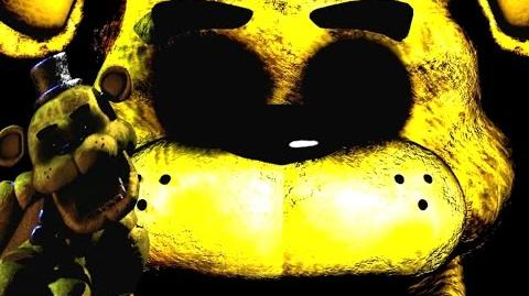 GOLDEN FREDDY EASTER EGG FIVE NIGHTS AT FREDDY'S WHAT DOES IT MEAN?!