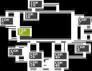 FNaF - Mapa (CAM 1C)