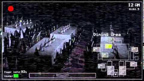 Five Nights at Freddy's gameplay (demostración)