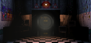 FNaF2 - Office (Golden Freddy - Pasillo).png