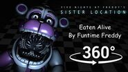 360° Eaten Alive by Funtime Freddy - FNAF Sister Location SFM (VR Compatible)