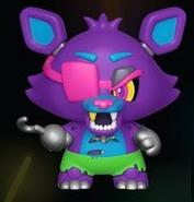 Blacklight Foxy (Purple)