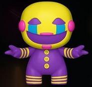 Blacklight puppet