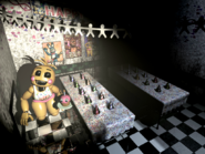 FNaF2 - Party Room 1 (Toy Chica - Iluminado)