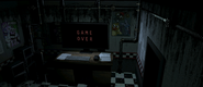 UCN - Toy Freddy - Cam 08 - Game Over