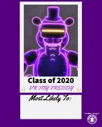 FNaF AR - VR Toy Freddy - Illumix Twitter (Class of 2020)