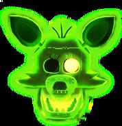 FNaF AR - Radioactive Foxy (Icono - Mapa)