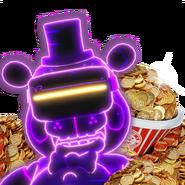 FNaF AR - Minipaquete - Tienda (FazToken - Traje - VR Toy Freddy)
