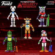 FNaF SB - Funko Action Figures