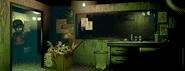 FNaF3 - Office (Alucinación - Shadow Bonnie, iluminado)