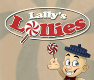 Lally's Lollies Advertisement