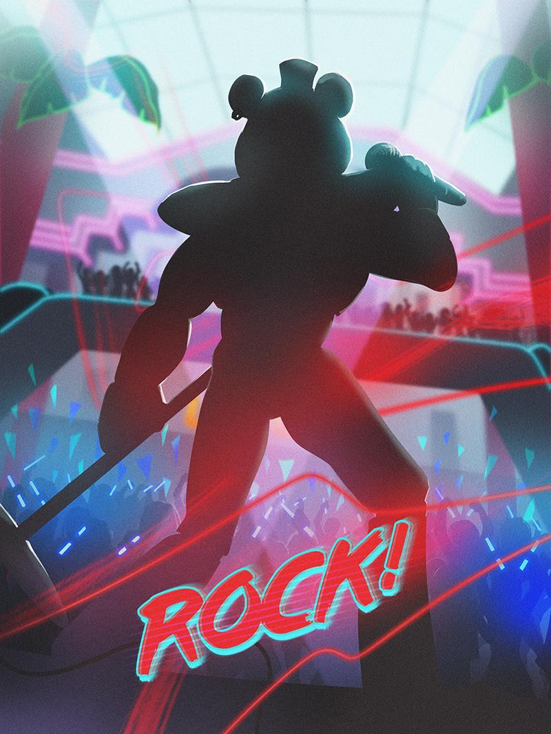Glamrock Freddy