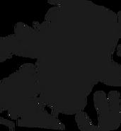 Alpine ui plushsuit mangle silhouette