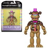 Chocolate Freddy Action Figure