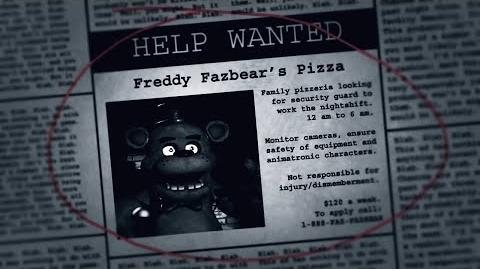 FIVE NIGHTS AT FREDDY'S SONG - Free Download!