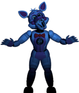 Funtime Foxy in the Dark