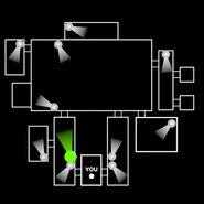 FNaF 1 - Mapa beta (West Hall)