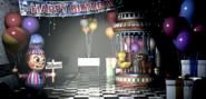 FNaF2 - Game Area (Balloon Boy - Luz encendida)