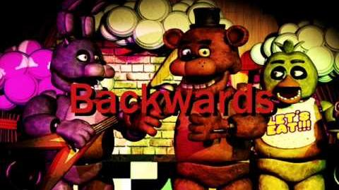 Five Nights at Freddy's Fifth night backwards message-0