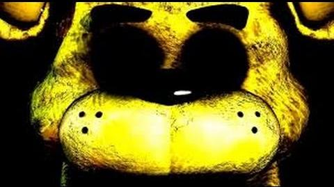 Five Nights at Freddy's - Gold Freddy Easter Egg