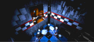 FNaF - West Hall (Freddy distorsionado - Iluminado)