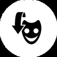 FNaF AR - Botón de la máscara de Freddy Fazbear (Activado)