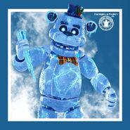 FNaF AR - Freddy Frostbear - Ilumix Twitter
