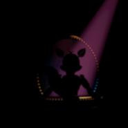 Funtime Auditorium- Escenario (Funtime Foxy alejándose)-Sister Location