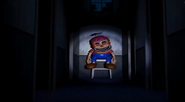 FNaF4 - Pasillo central (Nightmare BB en su asiento)