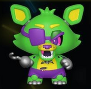 Blacklight Foxy (Green)
