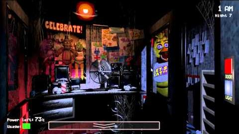 Five Nights at Freddy's EPIC CHICA GLITCH