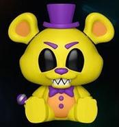 Blacklight Golden Freddy