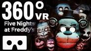 VR 360° 🔴 FIVE NIGHTS AT FREDDY'S Help Wanted Gameplay immersive 4K video