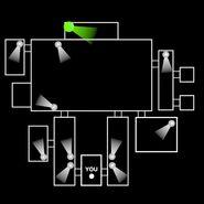 FNaF 1 - Mapa beta (Show Stage)