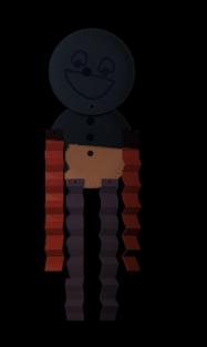 Papierowy chłopczyk