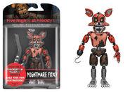 Figura de acción-Nightmare Foxy