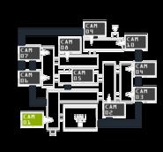 FNaF3 - Mapa (CAM 01)