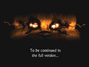 FNaF4 - Final de la Demo (Iluminado)
