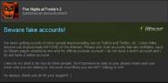 Scott Debunking Fake Accounts