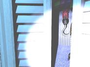 FNaF4 - Armario (Nightmare Foxy - 3ra posición, iluminado)